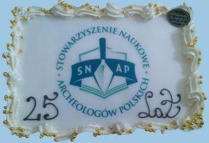 25 lat - tort