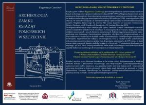 Archeologia Zamku Książąt Pomorskich w Szczecinie